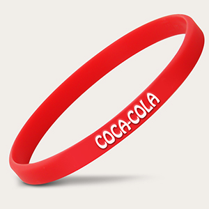 Coca Cola Branded Wristbands