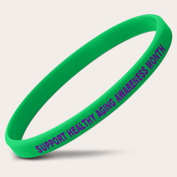 Green Healthy Aging Thin Bracelets