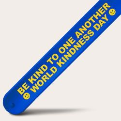 Kindness Day Blue Slap Bands