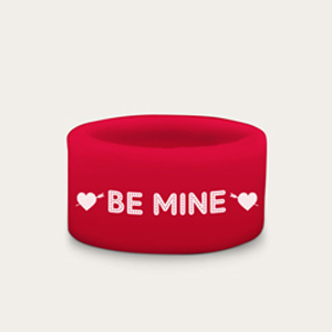 Red Silicone Wedding Ring