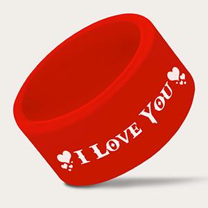 Silicone Valentine Ring