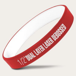 Dual Layer Standard Wristbands