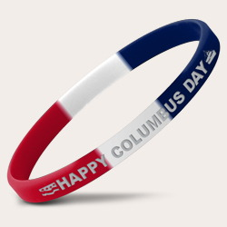 Tri-Color Segmented Wristbands