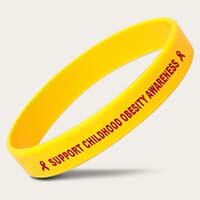 Yellow Childhood Awareness Bands