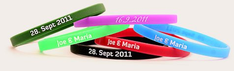 Narrow Wristbands - Thin Wristbands
