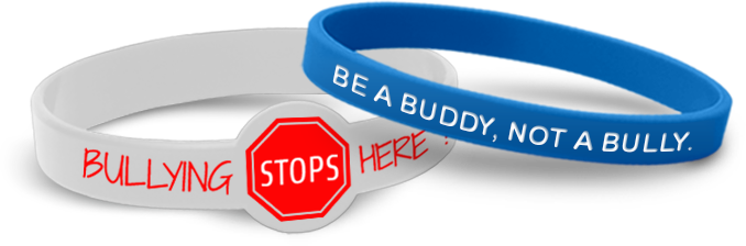 Anti-Bullying Wristbands