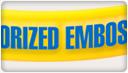 Colorized Emboss Thumb