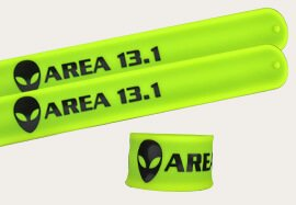 Wristbands with Raised Texting Embossed Style