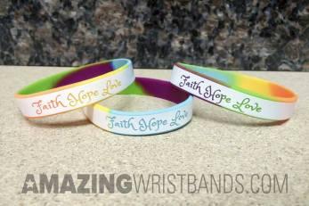 Custom Hope Faith Love Bracelets