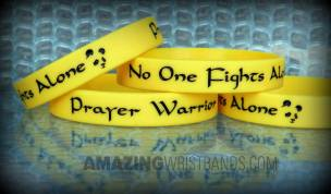 Yellow Bracelets For A Cause