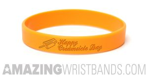 Standard Orange Wristbands