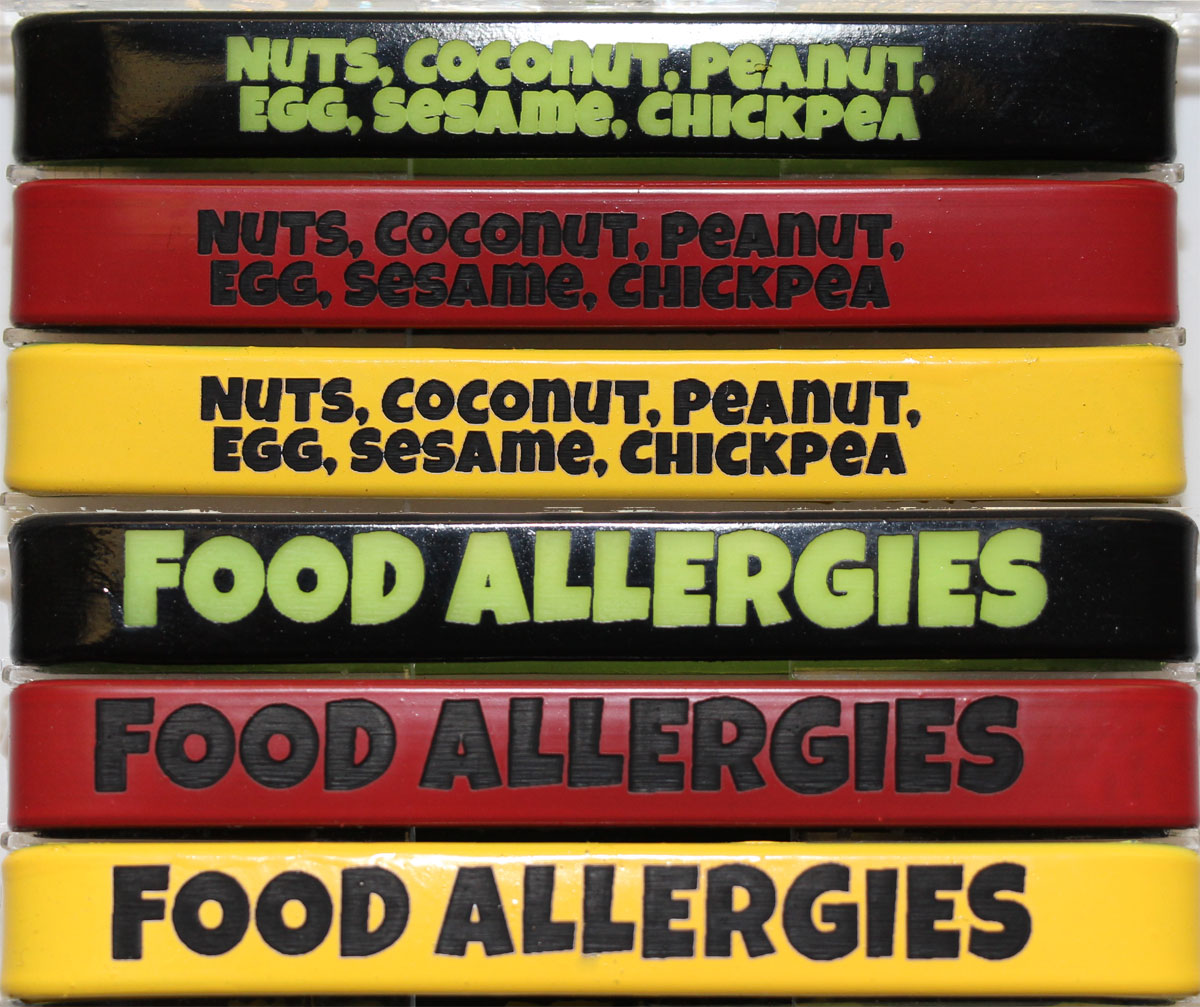 Food Allergy Alert Bracelets