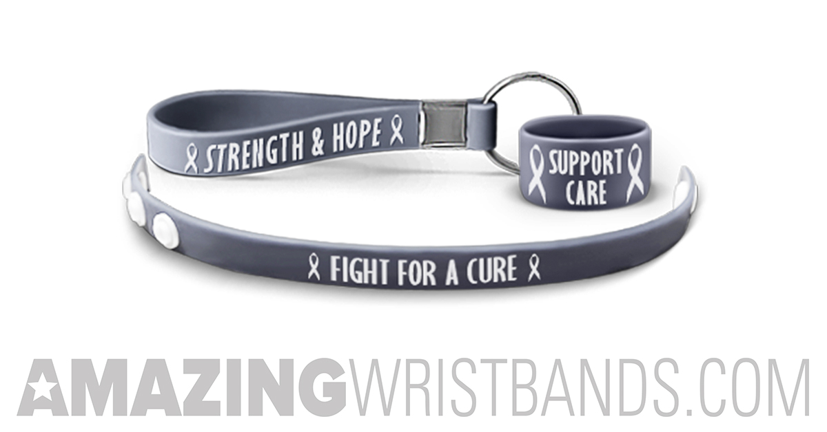 How To Fight For Brain Cancer With Custom Wristbands