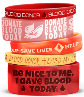 Blood Donor Wristbands