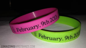 Kid's Birthday Party Wristbands