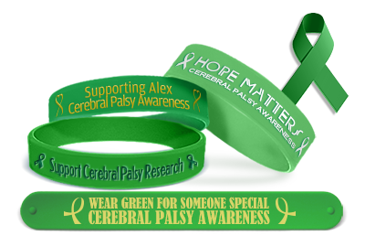 Cerebral Palsy Awareness Bracelets