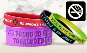 Anti-Smoking Wristbands