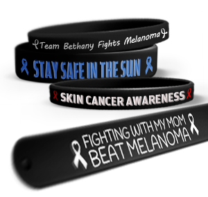 Melanoma Awareness Wristbands