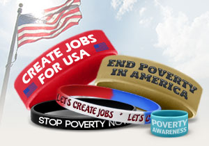 Poverty Awareness Bracelets