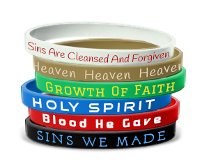 Salvation Color Wristbands