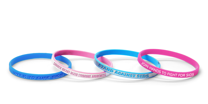 Custom SIDS Awareness Bands