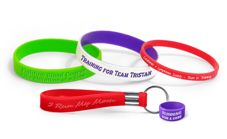 Team In Training Wristbands