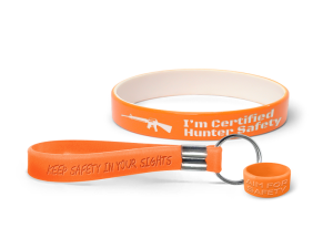 Hunter Safety Bands With Message