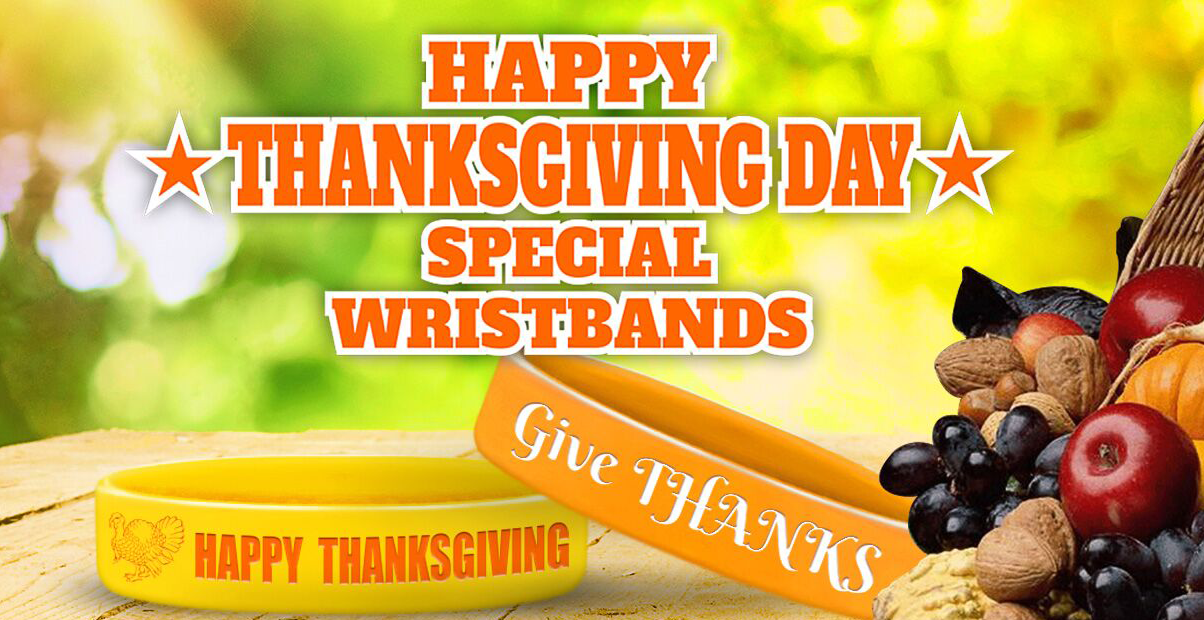 Thanksgiving Wristbands