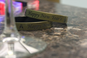 Custom New Year's Wristbands