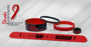 stroke-awareness-red-wristbands