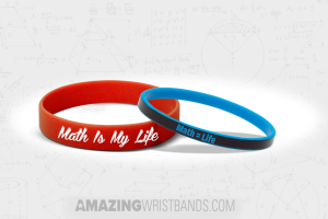 Wristbands To Show Love For Math