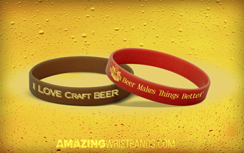 Craft Beer Wristbands