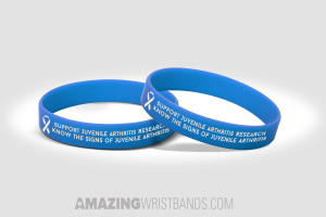 Wristbands With Juvenile Arthritis Message