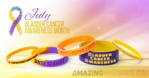 Awareness Bracelets For Bladder Cancer