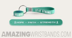 Teal Ovarian Wristbands