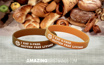 G-Free Message Wristbands