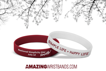Wristbands For Simplicity Day