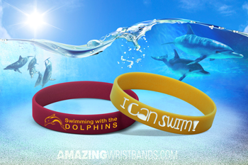 Swim Lessons Motivational Bands