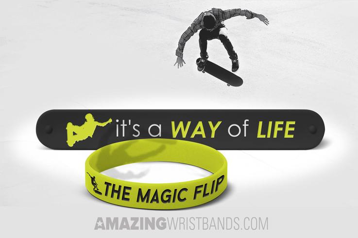 Skateboarding Wristbands