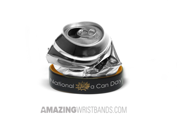 Custom National Crush a Can Day Bands