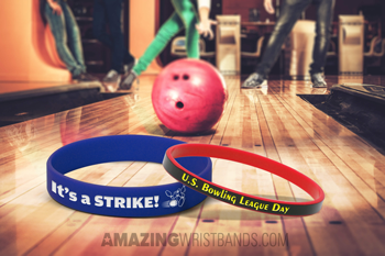 Celebrate Bowling League Day With Wristbands