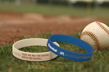 Custom Baseball Bracelets