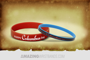 Columbus Day Celebration Wristbands