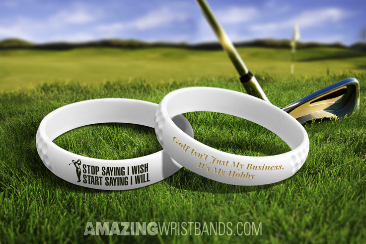 Wristbands To Support Golf