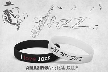 I Love Jazz Bracelets