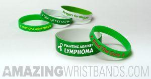 Green Lymphoma Bracelets