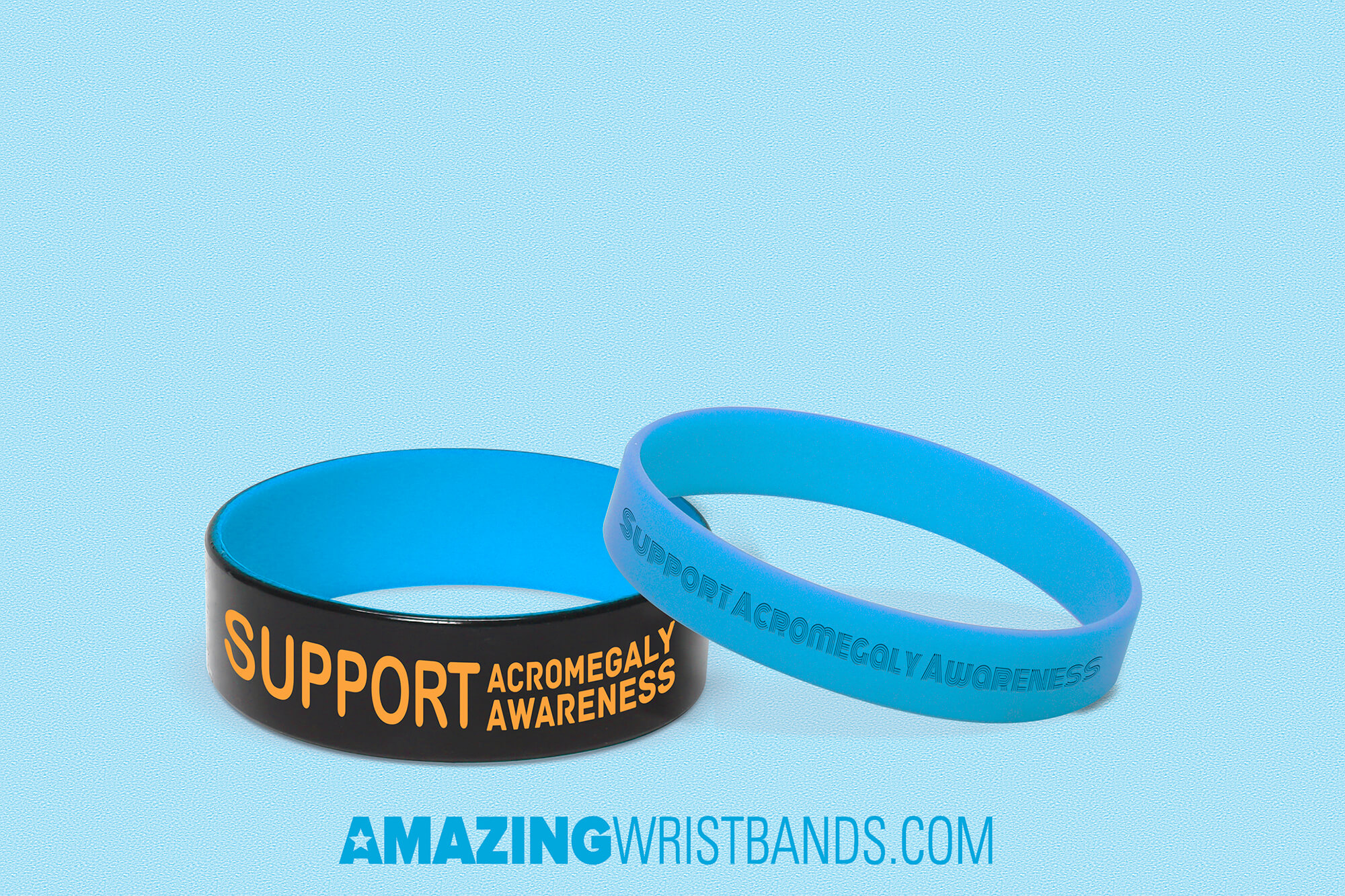 Acromegaly Awareness Wristbands