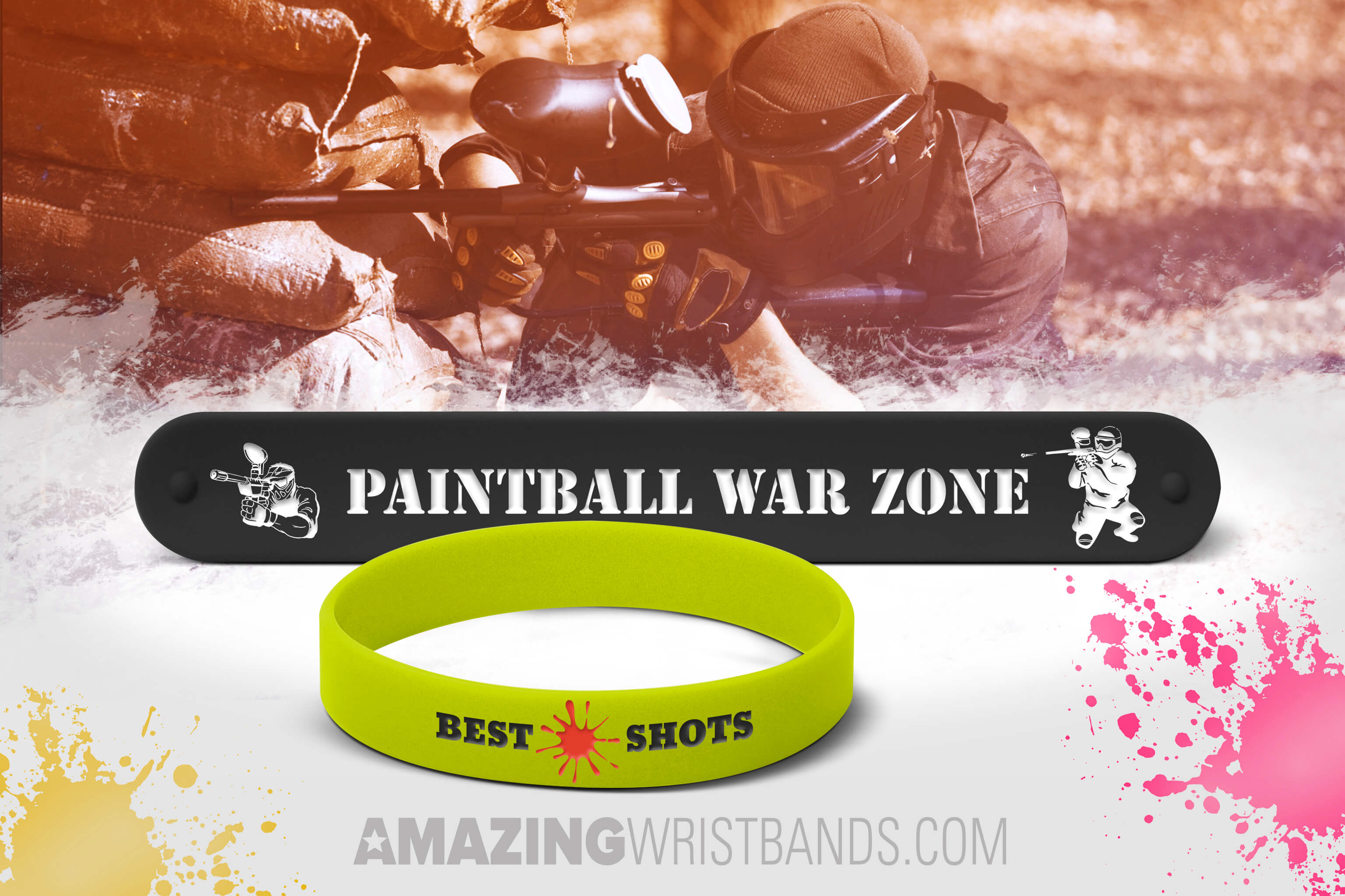 Paintball Wristbands