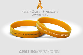 Kenny-Caffey Syndrome Awareness Wristbands