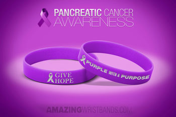 Pancreatic Cancer Wristbands